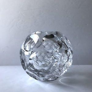 Baccarat Crystal Heritage Pontil Vase